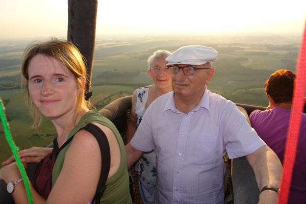 En montgolfière Entre Sérifontaine et Hébécourt