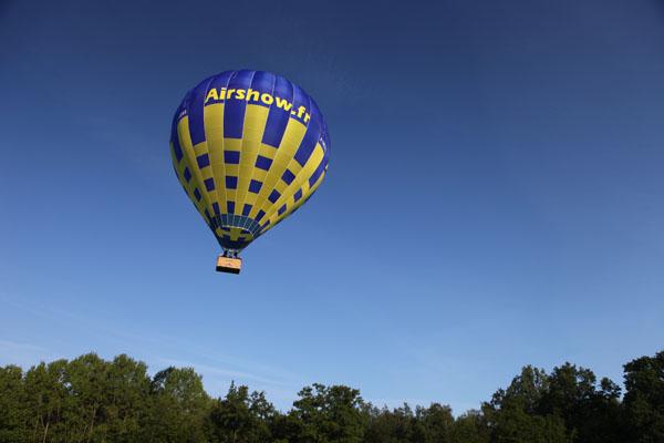 7 h 07 La montgolfière vient de décoller de Blacourt dans l'Oise