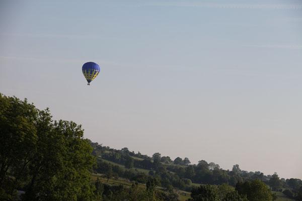 7 h 25 Survol du Pays de Bray en montgolfière