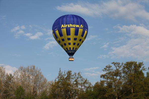 7 h 54 Le ballon prend de la hauteur au dessus du Pays de Bray