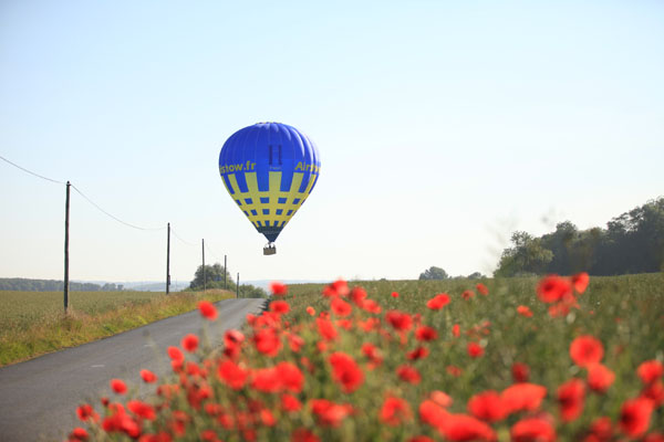Montgolfière Airshow Pays de Bray