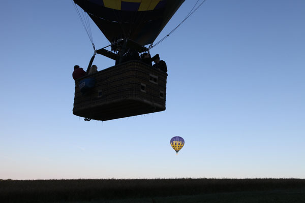 Ballons en vol
