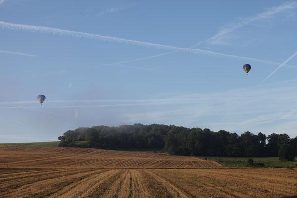 Survol du Parc du Vexin en montgolfière