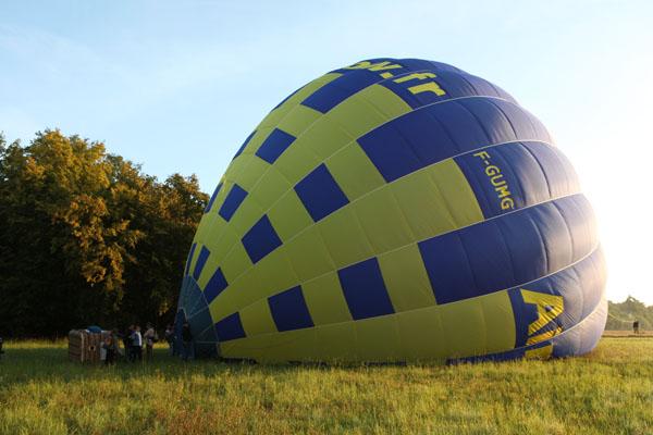 vol en montgolfiere proche paris et cergy