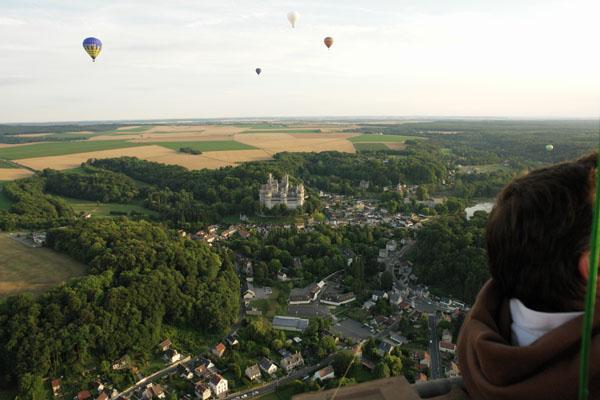 La ville et le château de Pierrefonds