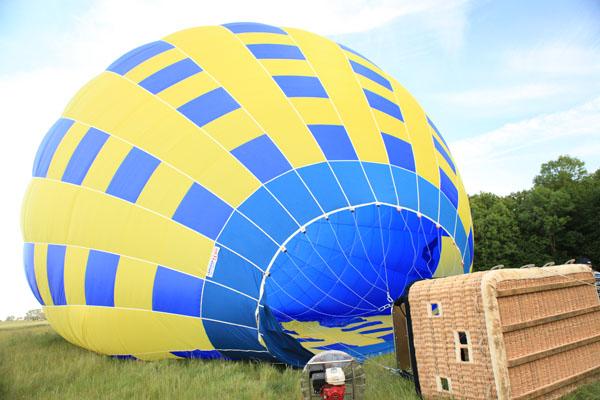 Gonflage du ballon suite ...