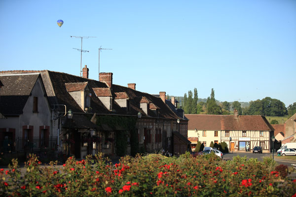 Survol en montgolfière de Saint Germer de Fly
