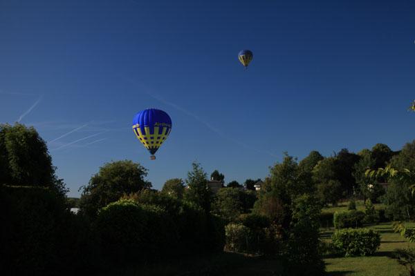 Survol du Pays de Bray en montgolfière