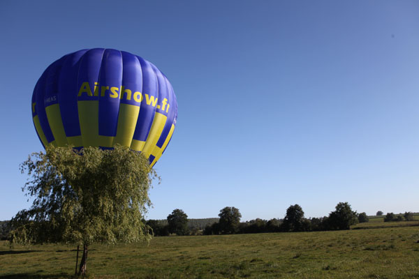 Montgolfière Airshow à Saint-Germer-de-Fly